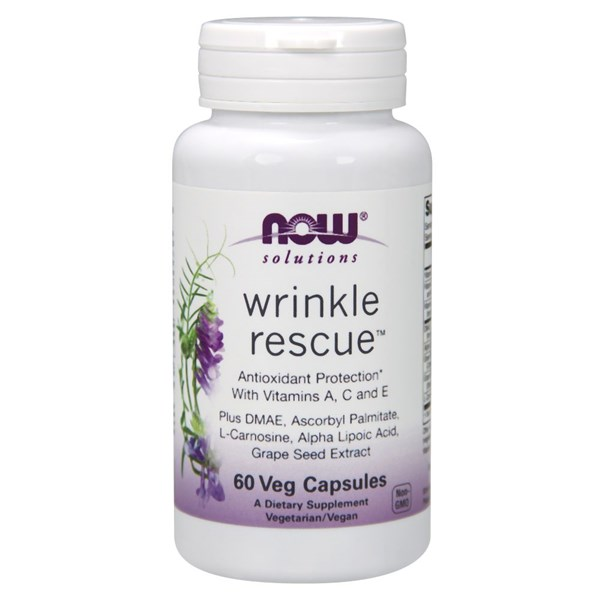 Wrinkle Rescue 60 Veg Caps by Now Foods
