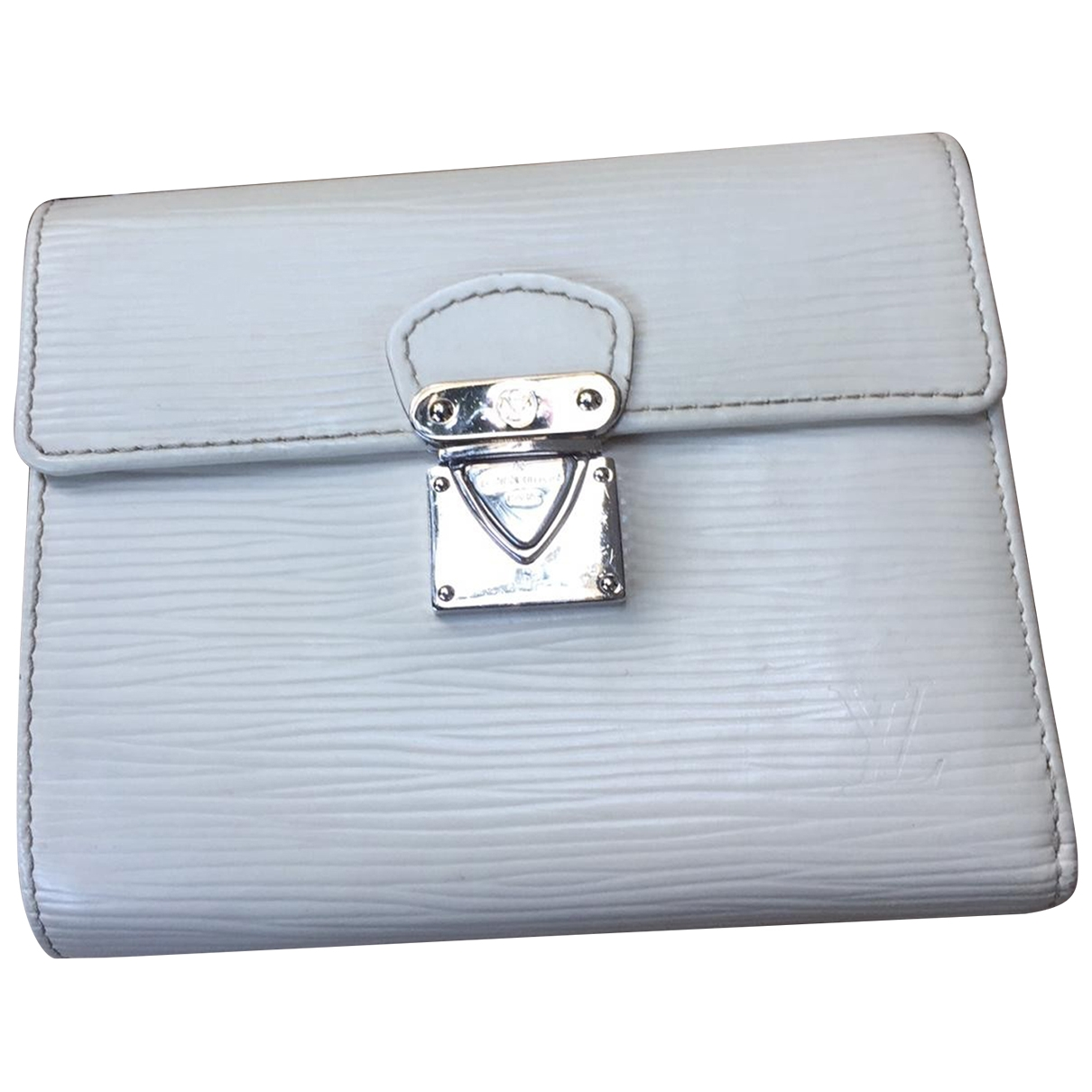 Louis Vuitton Metis White Leather wallet for Women \N