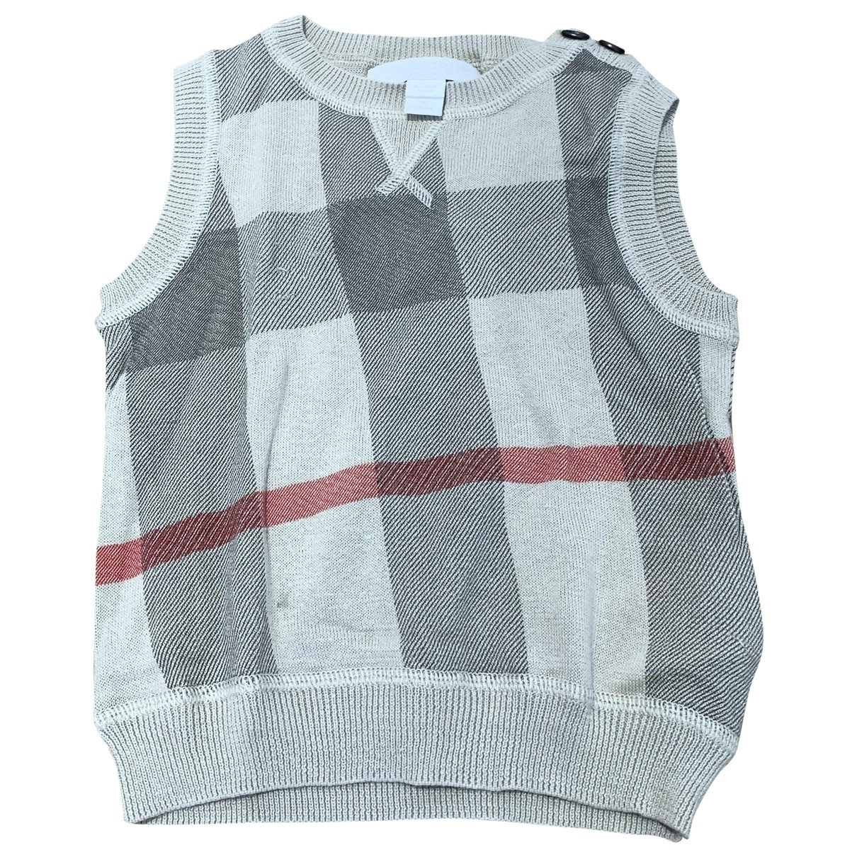 Burberry \N Beige Cotton Knitwear for Kids 9 months - until 28 inches UK