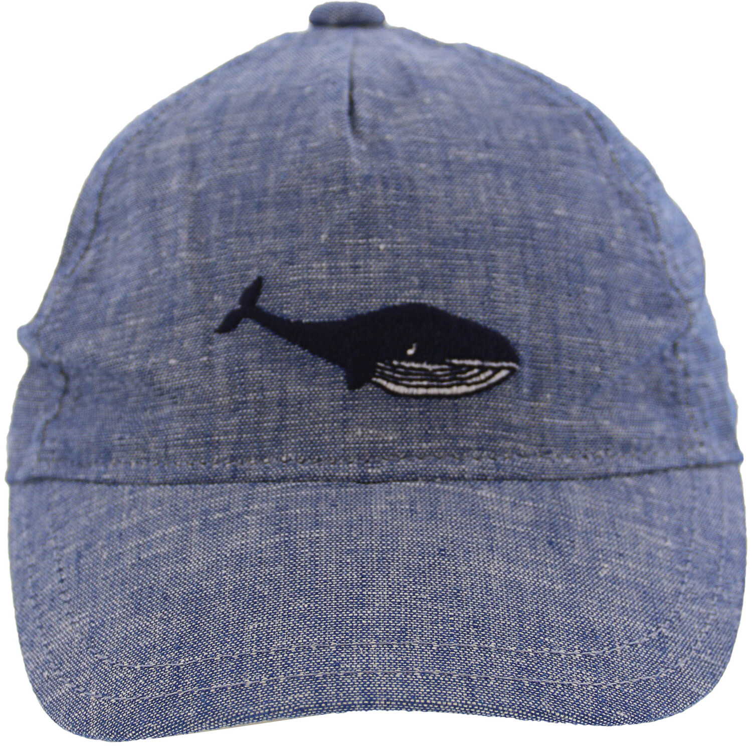 Janie And Jack Blue Whale Cap Hats & - 6-12 Months
