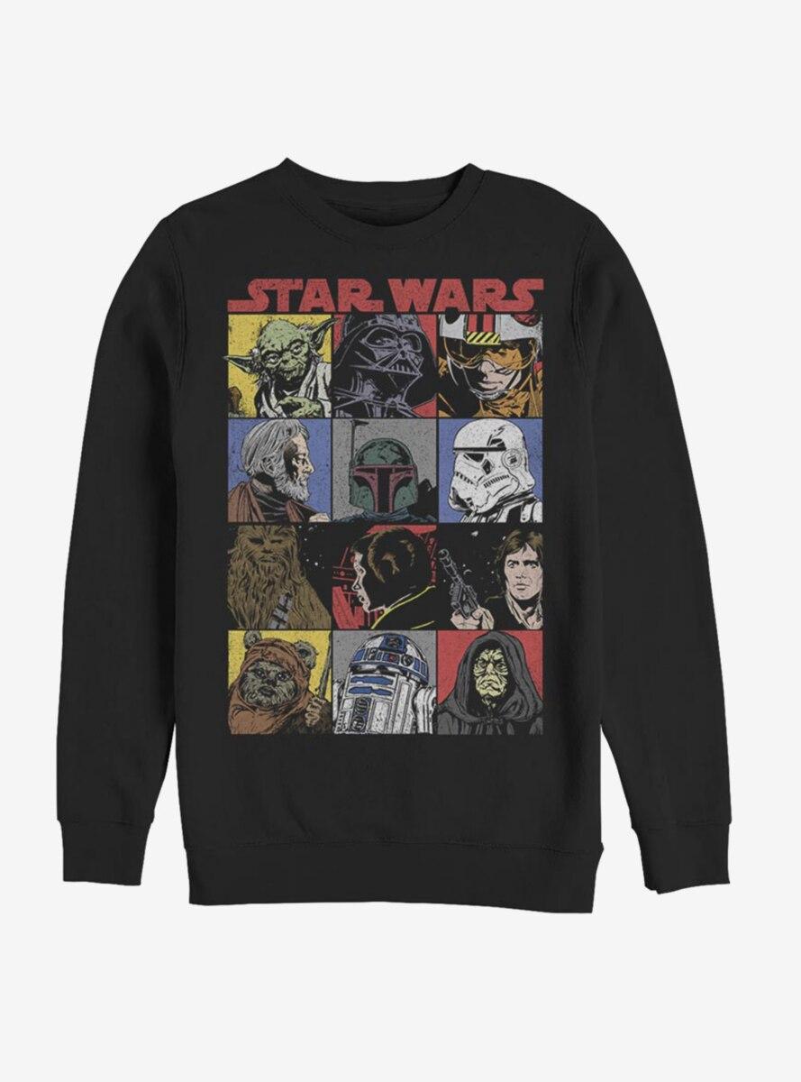 Star Wars Comic Art Sweatshirt