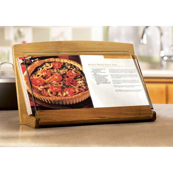 Woodworking Project Paper Plan to Build Cookbook Holder