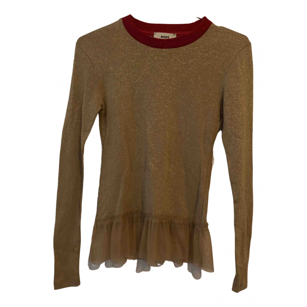 Mads Nørgaard \N Gold Cotton  top for Women S International