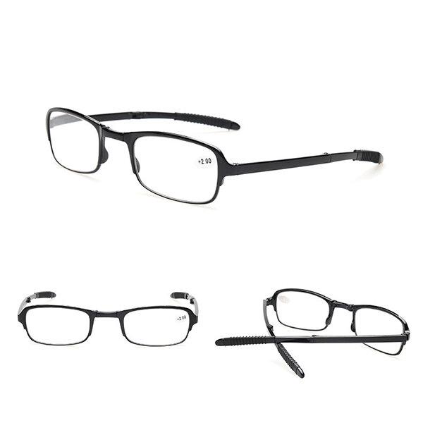 Folding Portable Reading Glasses Anti-fatigue Resin Lenses Foldable Presbyopic Eyewear