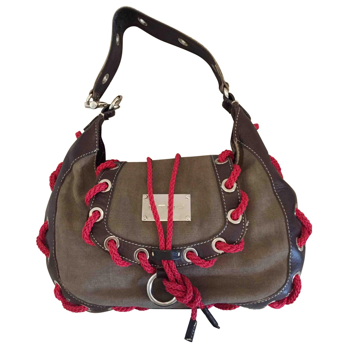 Etro \N Brown Cloth handbag for Women \N