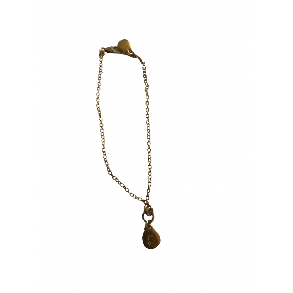 Non Signé / Unsigned \N Gold Gold plated bracelet for Women \N