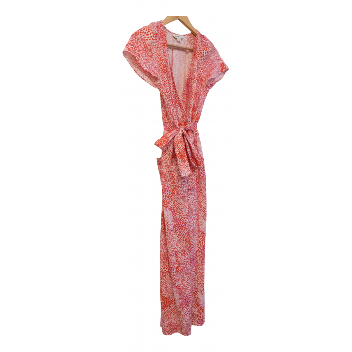 Whistles \N Red Cotton jumpsuit for Women S International
