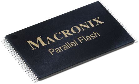 Macronix MX29LV640EBTI-70G, Parallel 64Mbit Flash Memory, 70ns, 48-Pin TSOP (5)