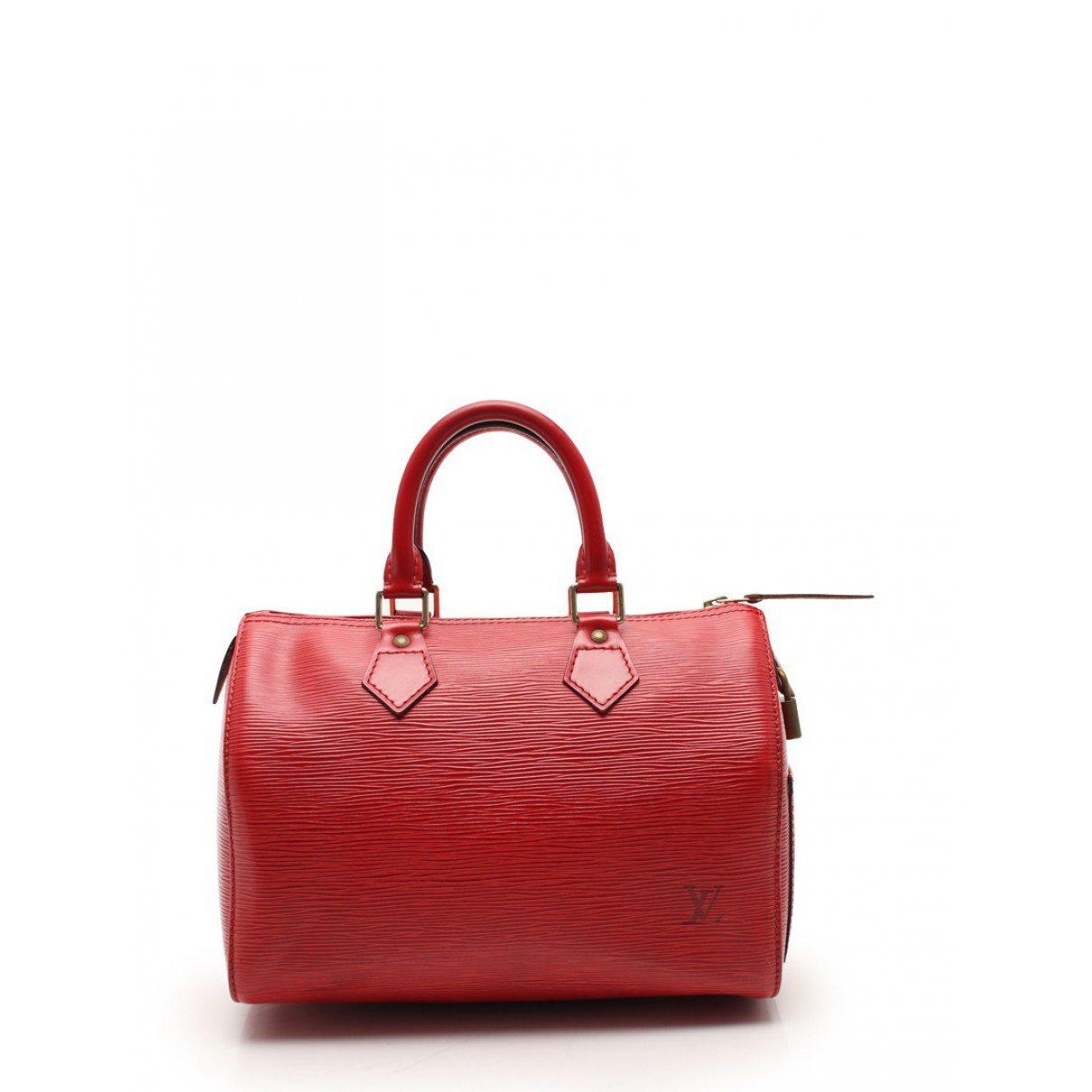 Louis Vuitton Speedy Red Leather handbag for Women \N