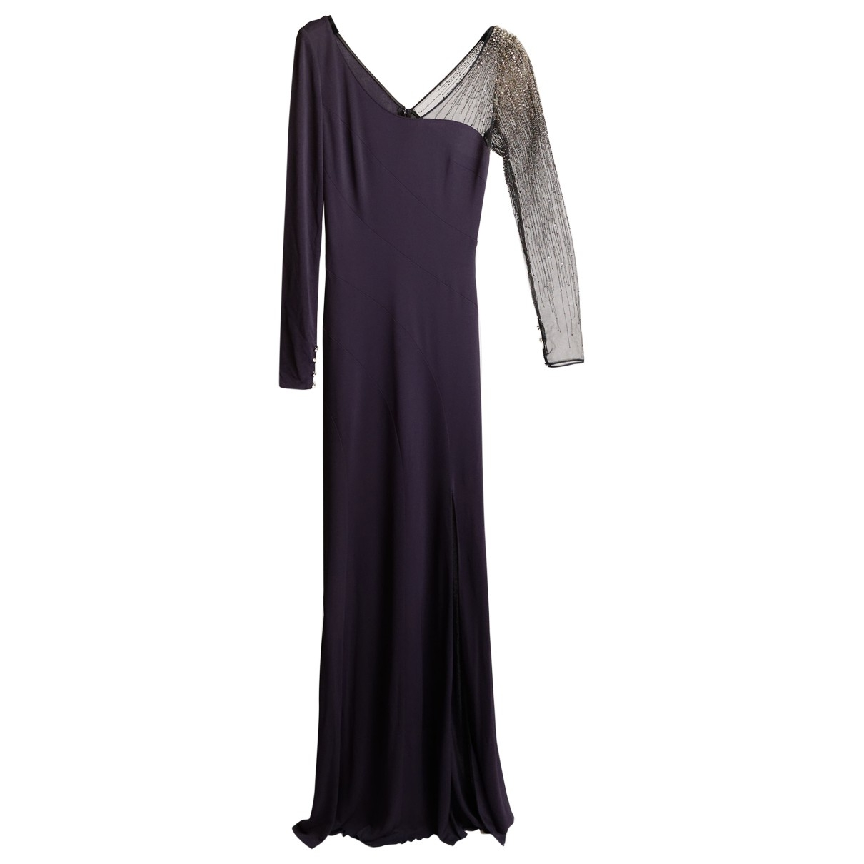 Azzaro \N Purple dress for Women 36 FR