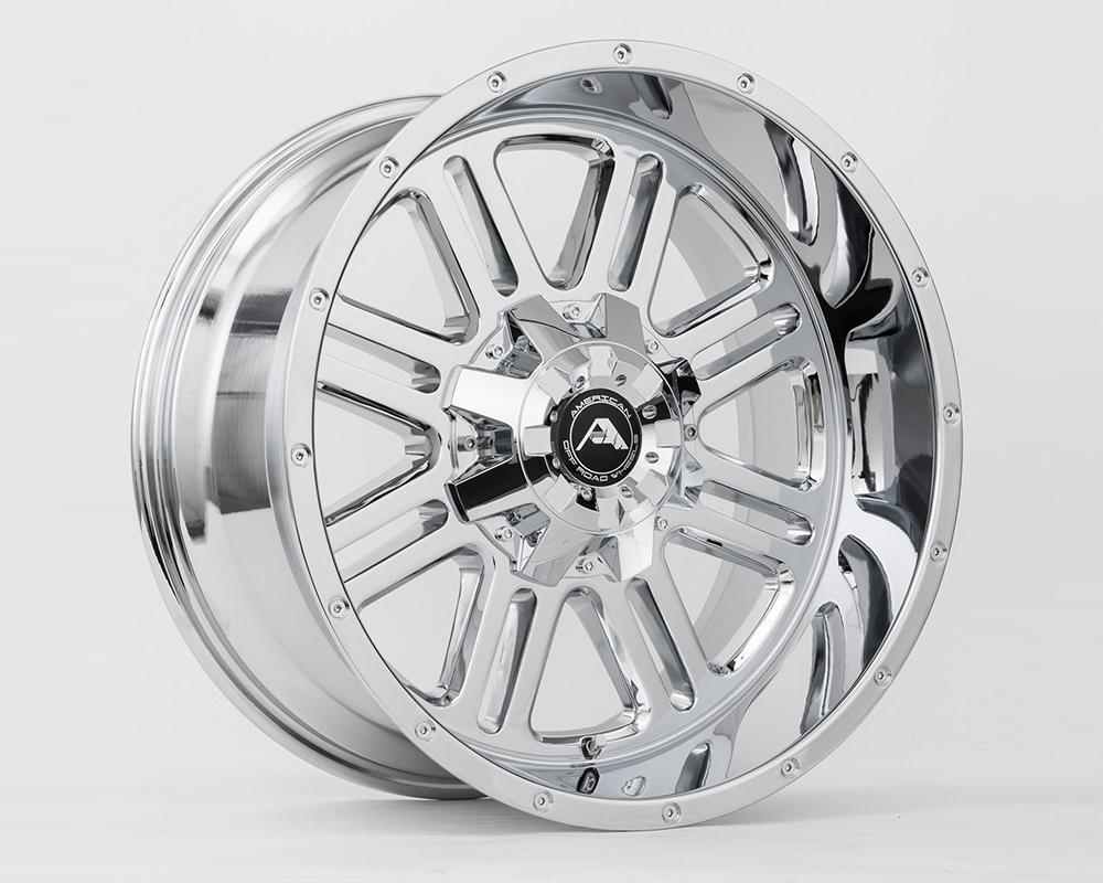 American Off-Road A10620A0550-24CR A106 Chrome Wheel 20x10 5x150 -24mm
