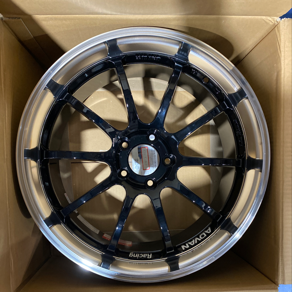 Advan RS Wheels Machined Black 19x9 5x114.3 25mm ONLY 2 Available CLEARANCE