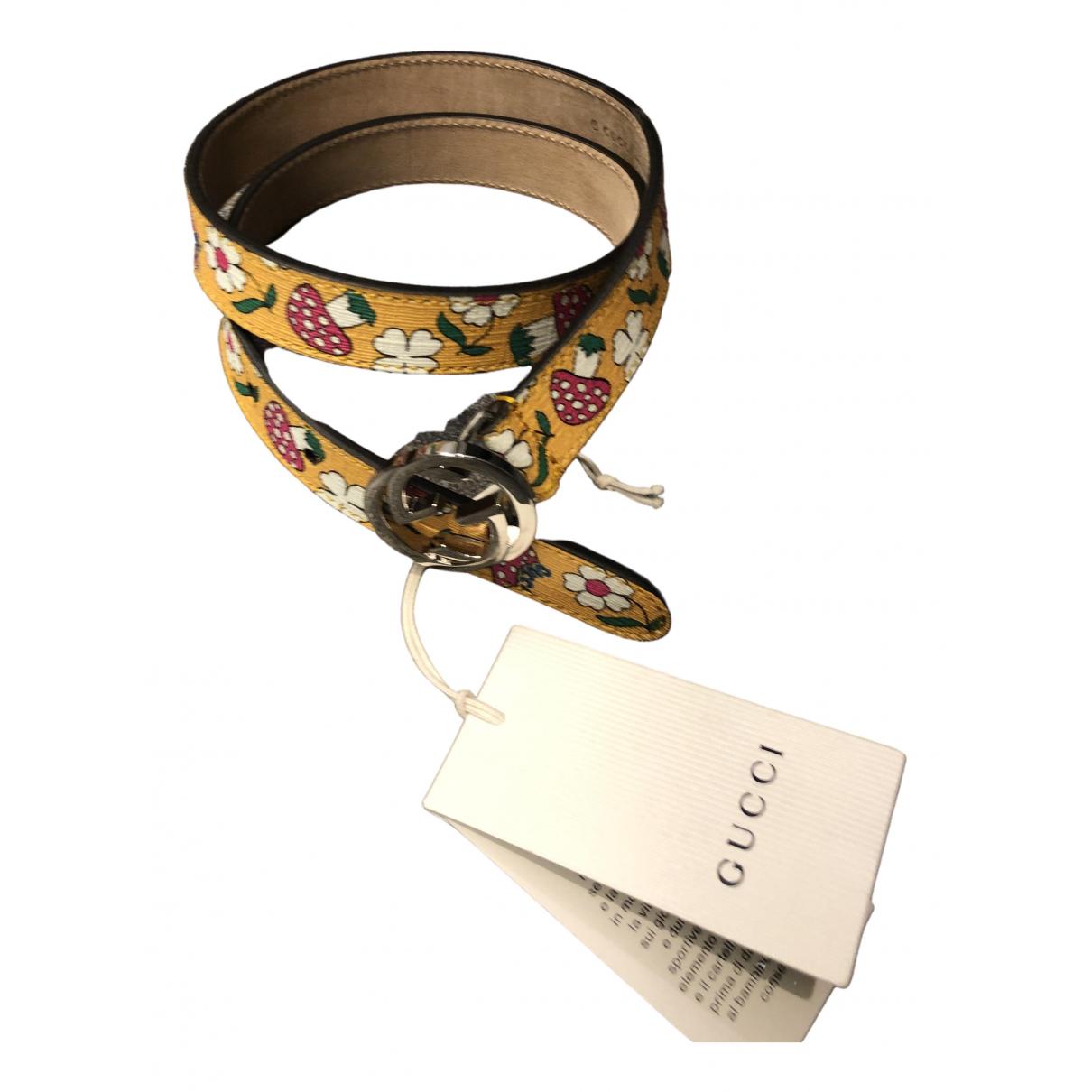 Gucci \N Multicolour Cloth belt.Suspenders for Kids \N
