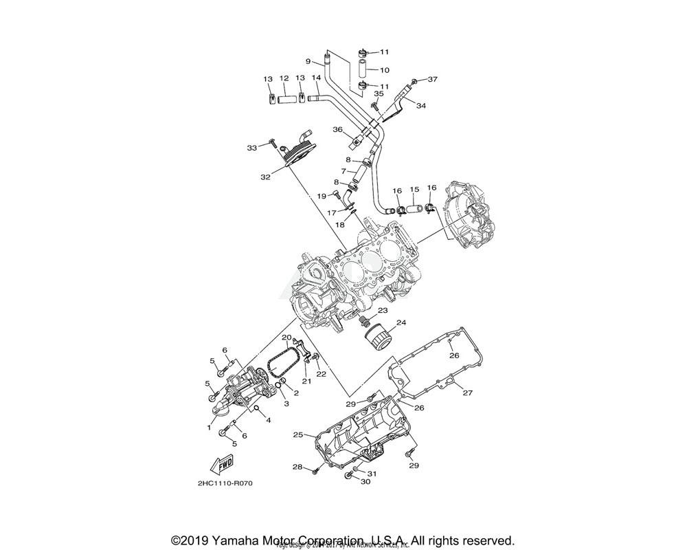 Yamaha OEM 8ES-13284-00-00 PIPE