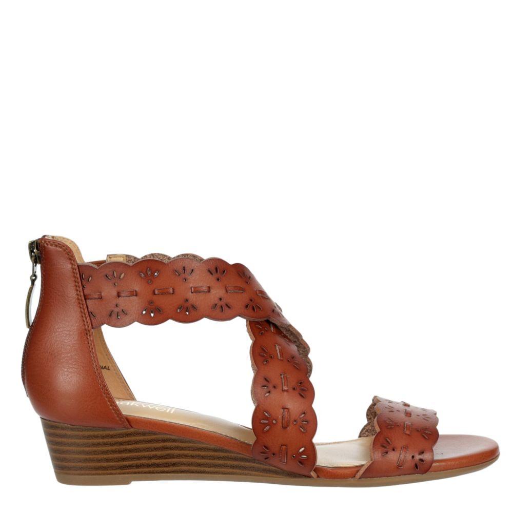 Lauren Blakwell Womens Blythe Wedge Sandal Heel Sandals