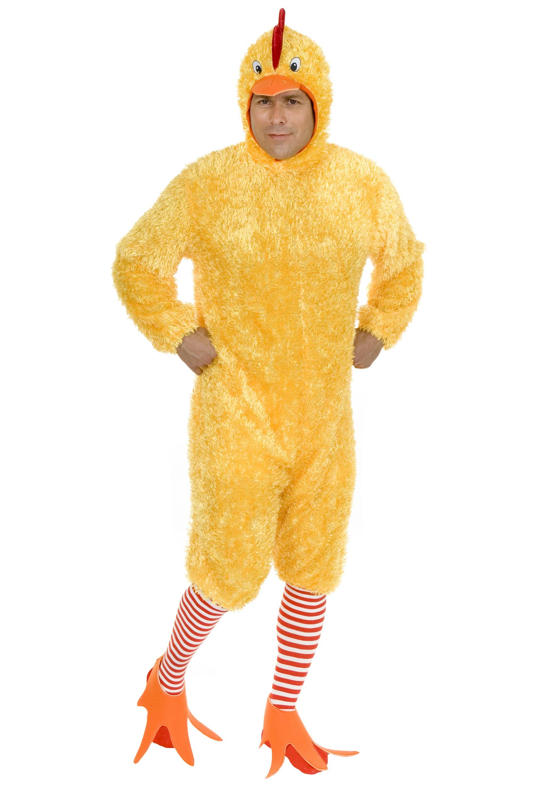 Funky Yellow Chicken Costume