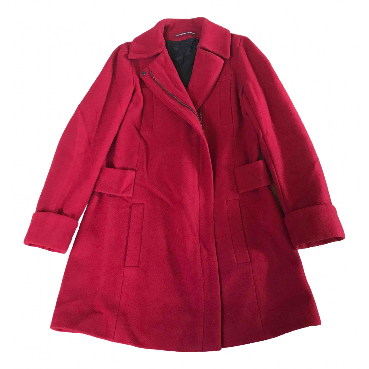 Comptoir Des Cotonniers \N Red Wool coat for Women 36 FR