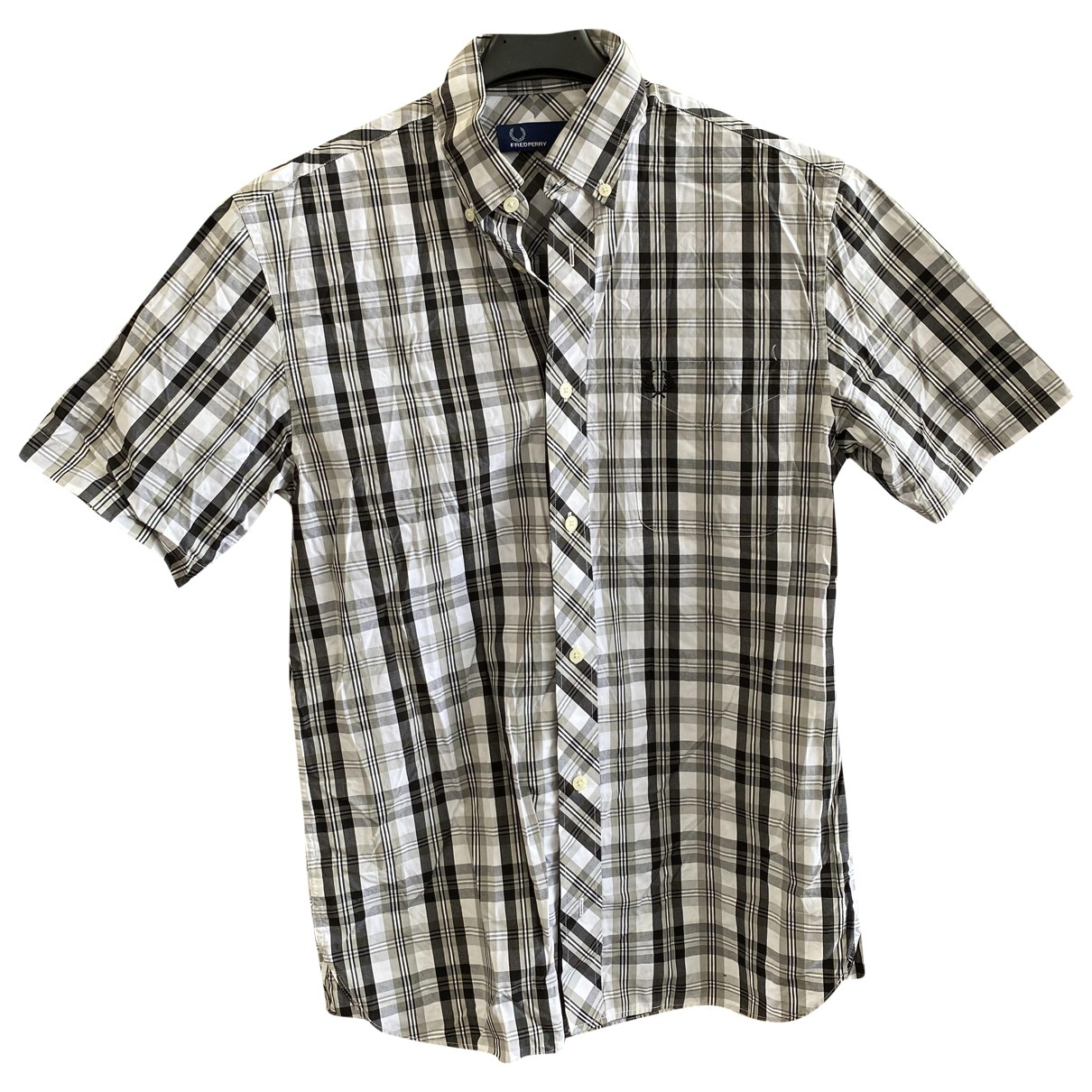 Fred Perry \N Grey Cotton Shirts for Men S International