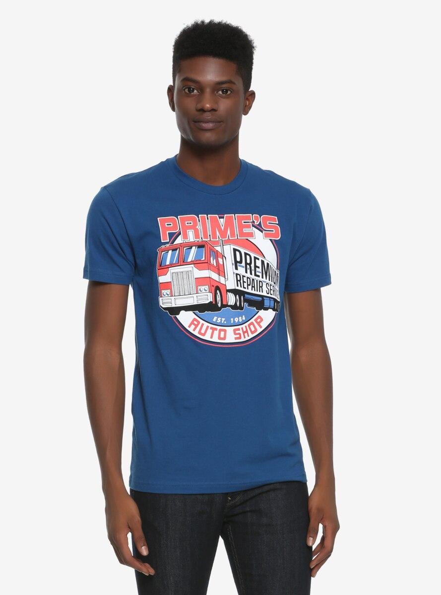 Transformers Prime's Autoshop T-Shirt