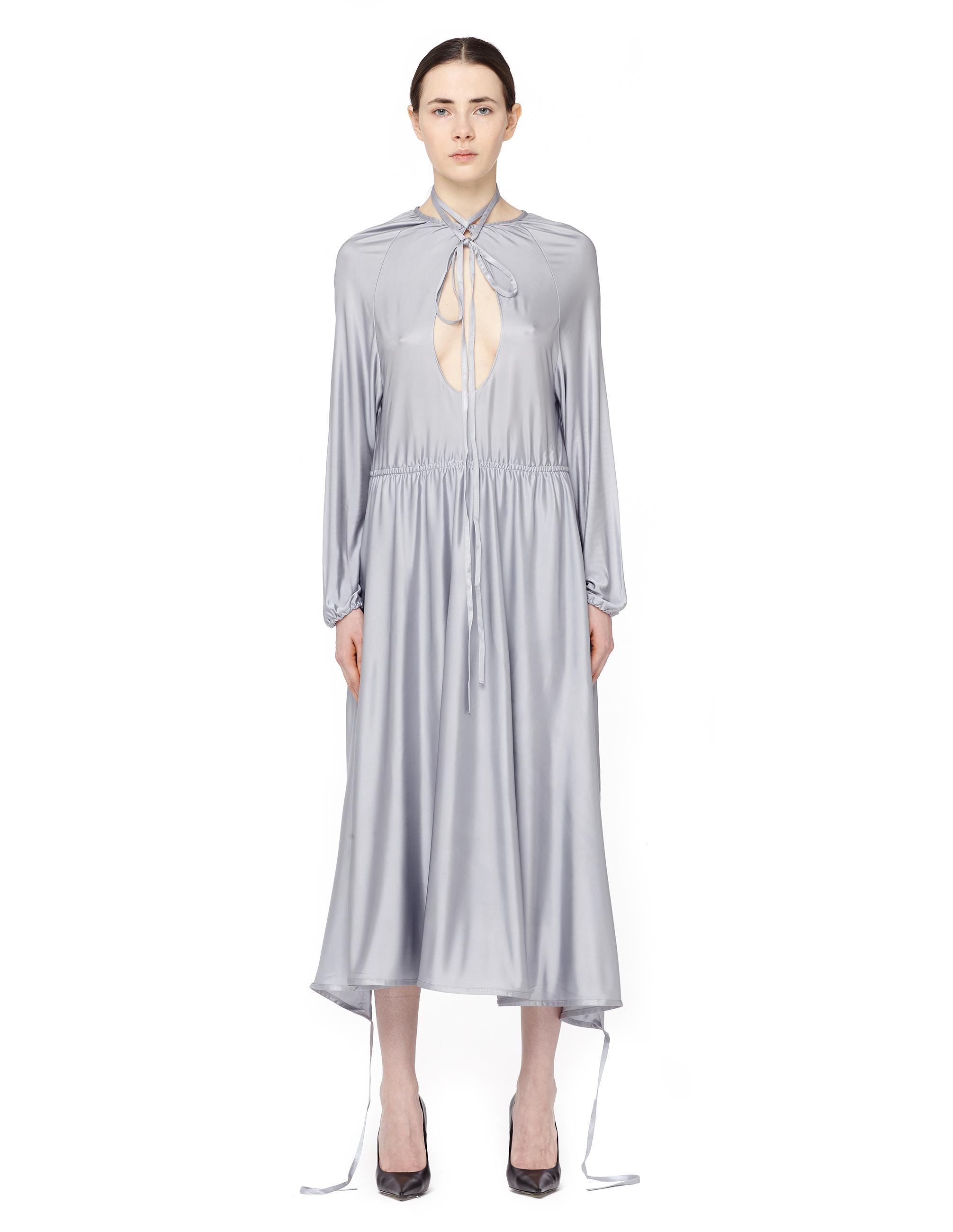 Vetements Asymmetric cut-out midi dress