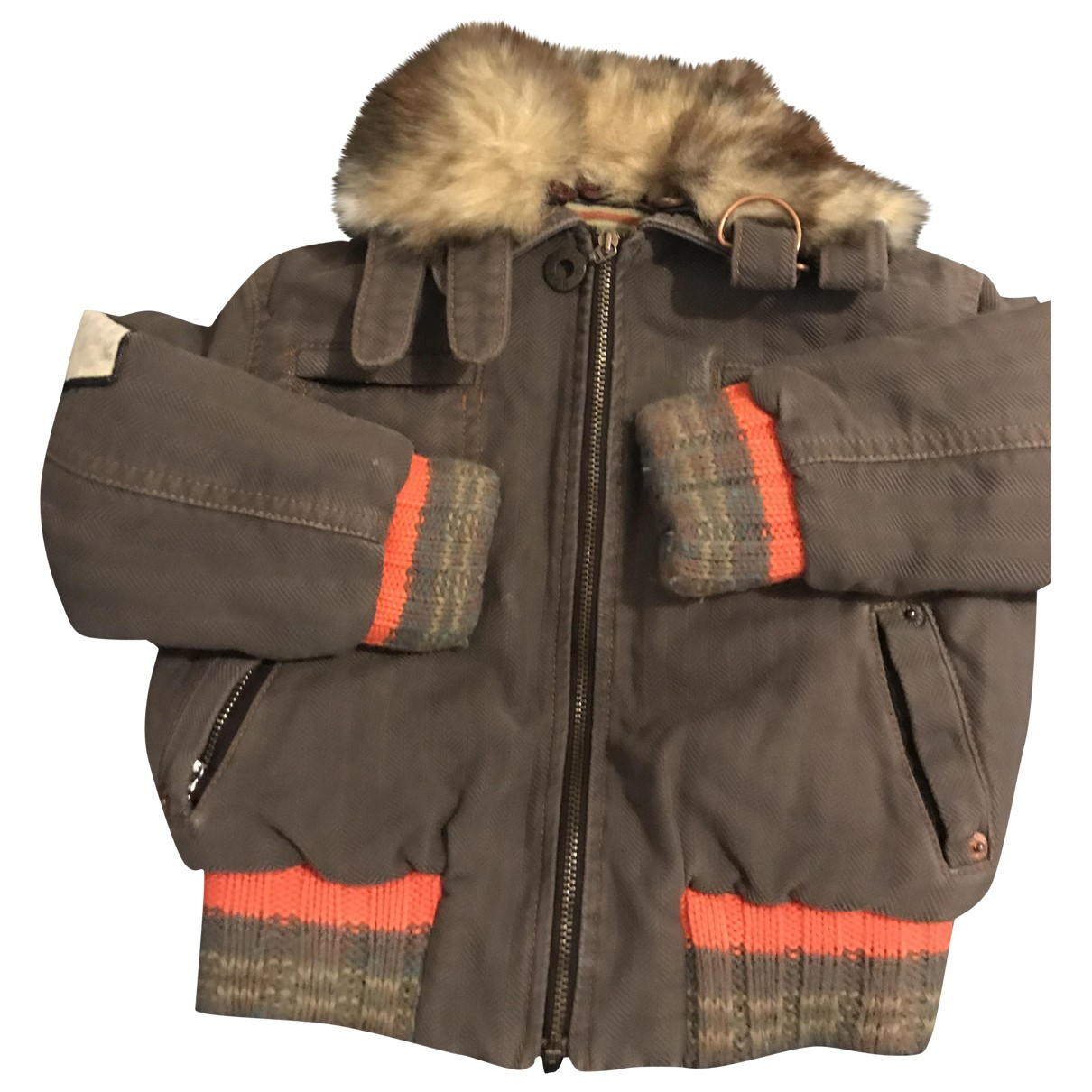 D&g \N Khaki Cotton jacket & coat for Kids 2 years - up to 86cm FR