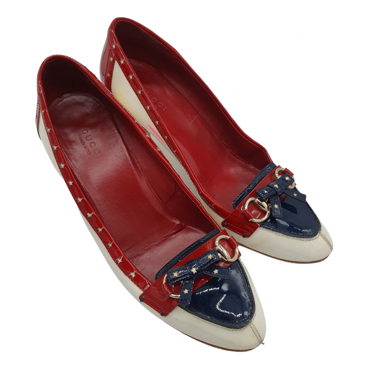 Gucci \N Multicolour Patent leather Heels for Women 39.5 EU