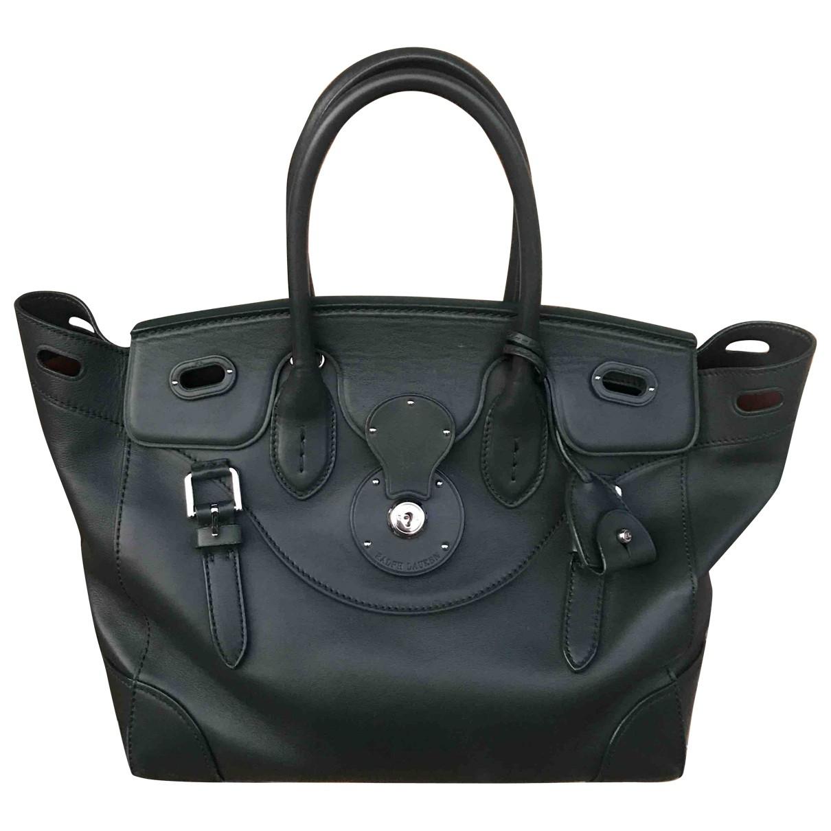 Ralph Lauren Collection \N Green Leather handbag for Women \N