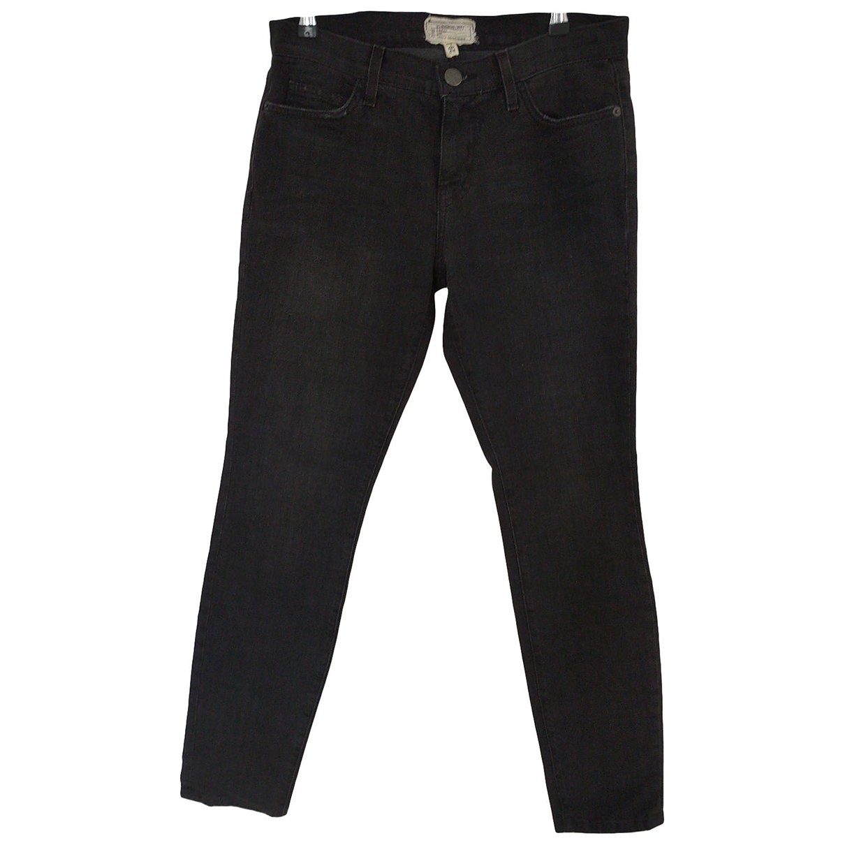 Current Elliott \N Black Cotton - elasthane Jeans for Women 29 US