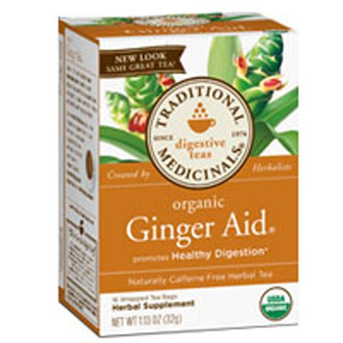 Organic Ginger Aid Tea 16 Bags by Traditional Medicinals Teas
