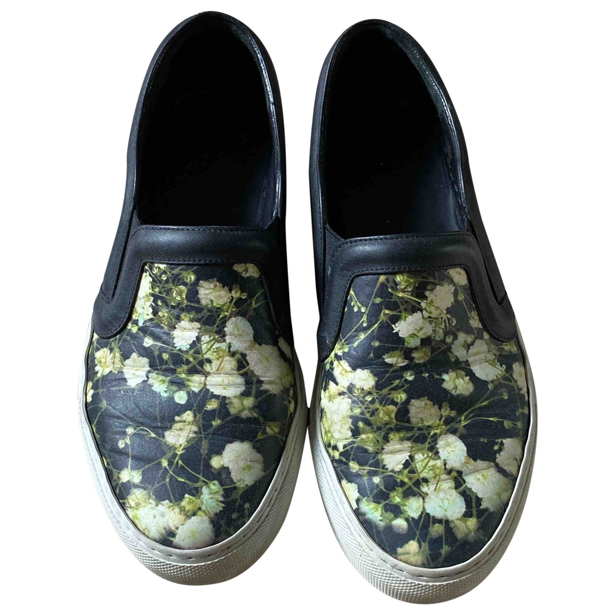 Givenchy \N Green Leather Trainers for Women 35.5 EU
