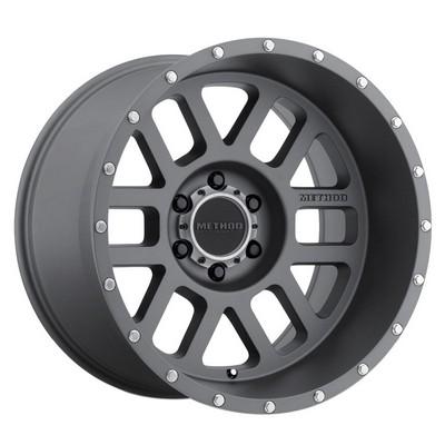 Method Race Wheels MR606 Mesh, 20x12 with 8x170 Bolt Pattern - Titanium - MR60621287852N