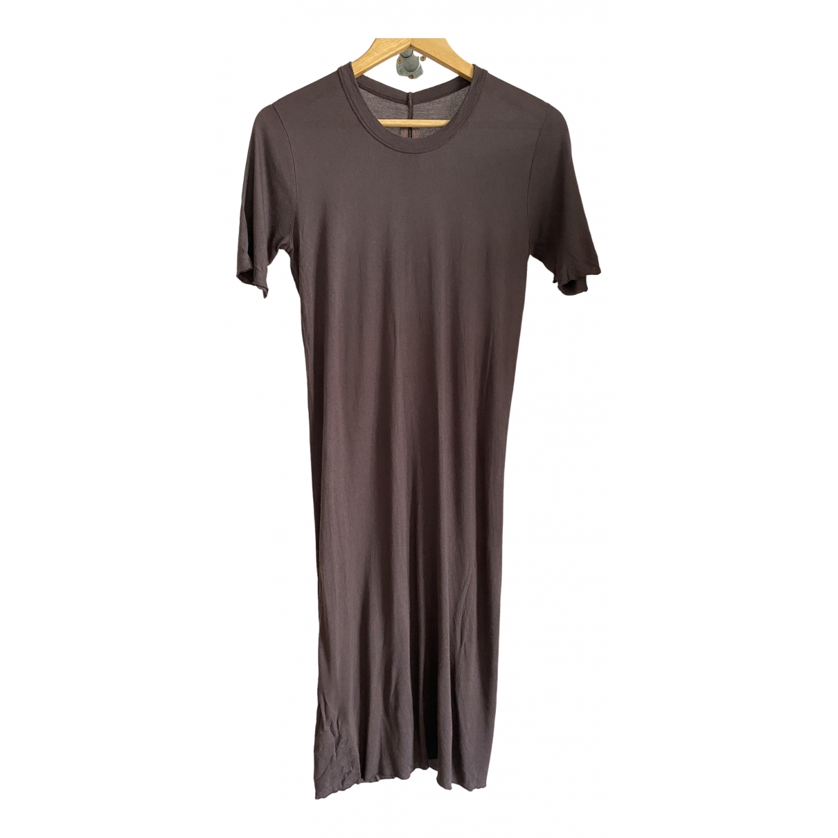 Rick Owens \N Brown Cotton T-shirts for Men XS International