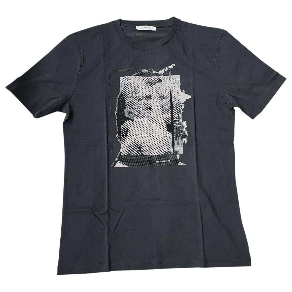 Hamaki-ho \N Grey Cotton T-shirts for Men XXL International