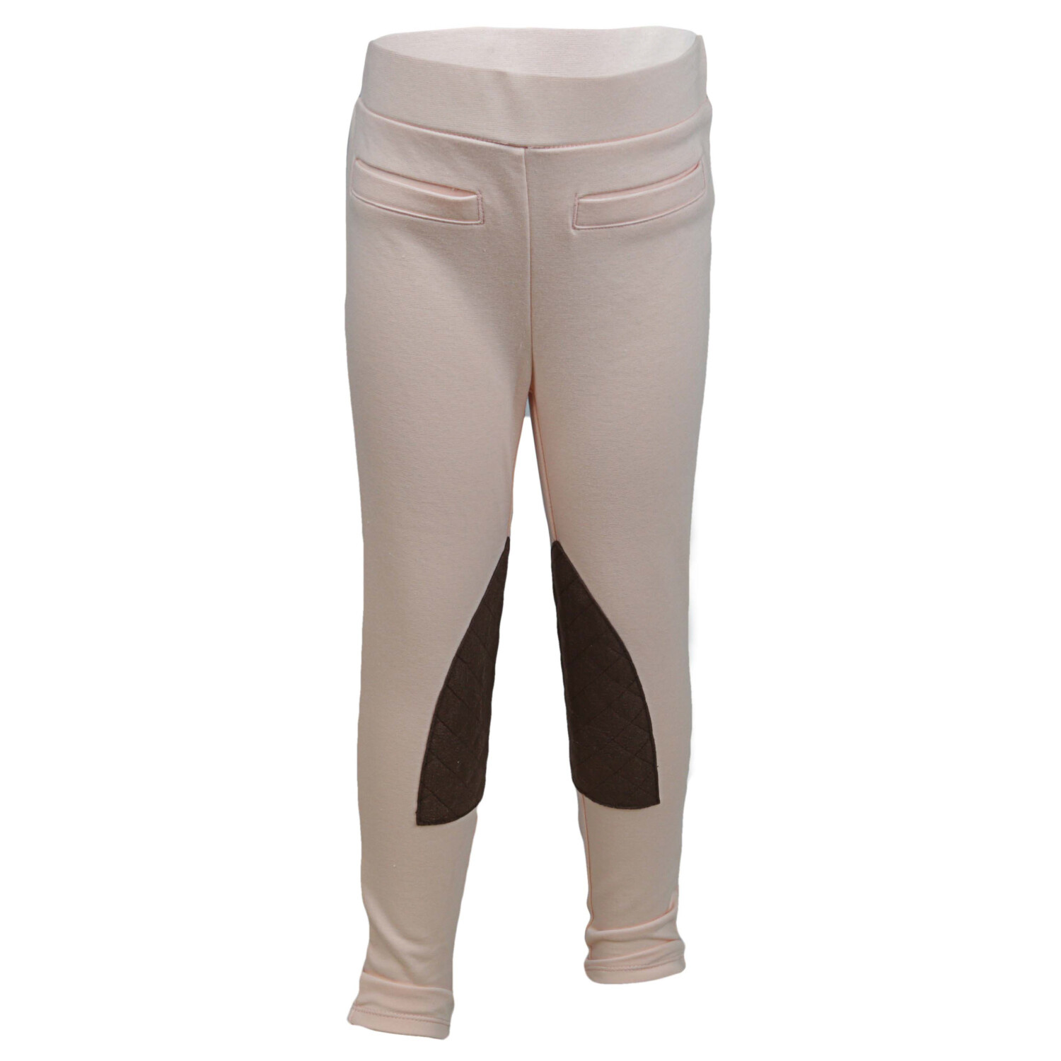 Janie And Jack Girl's Blush Riding Pant Pants - 12-18 Months