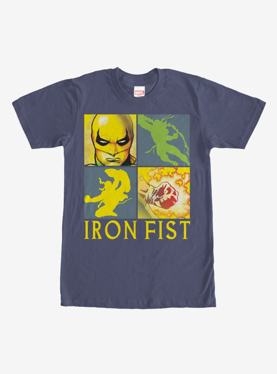 Marvel Iron Fist Four Square T-Shirt