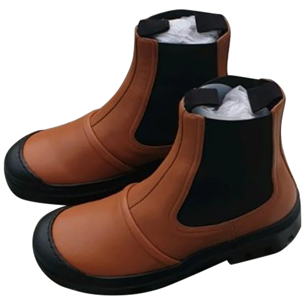 Loewe \N Camel Leather Ankle boots for Women 37 IT
