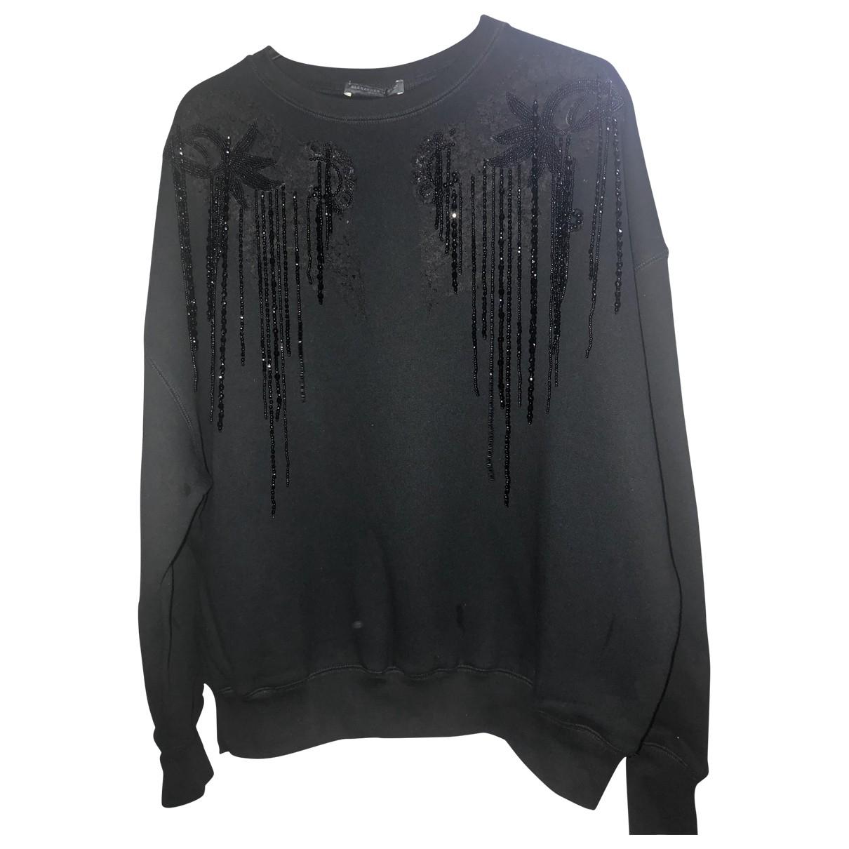 Alexander Mcqueen \N Black Cotton Knitwear for Women 36 FR
