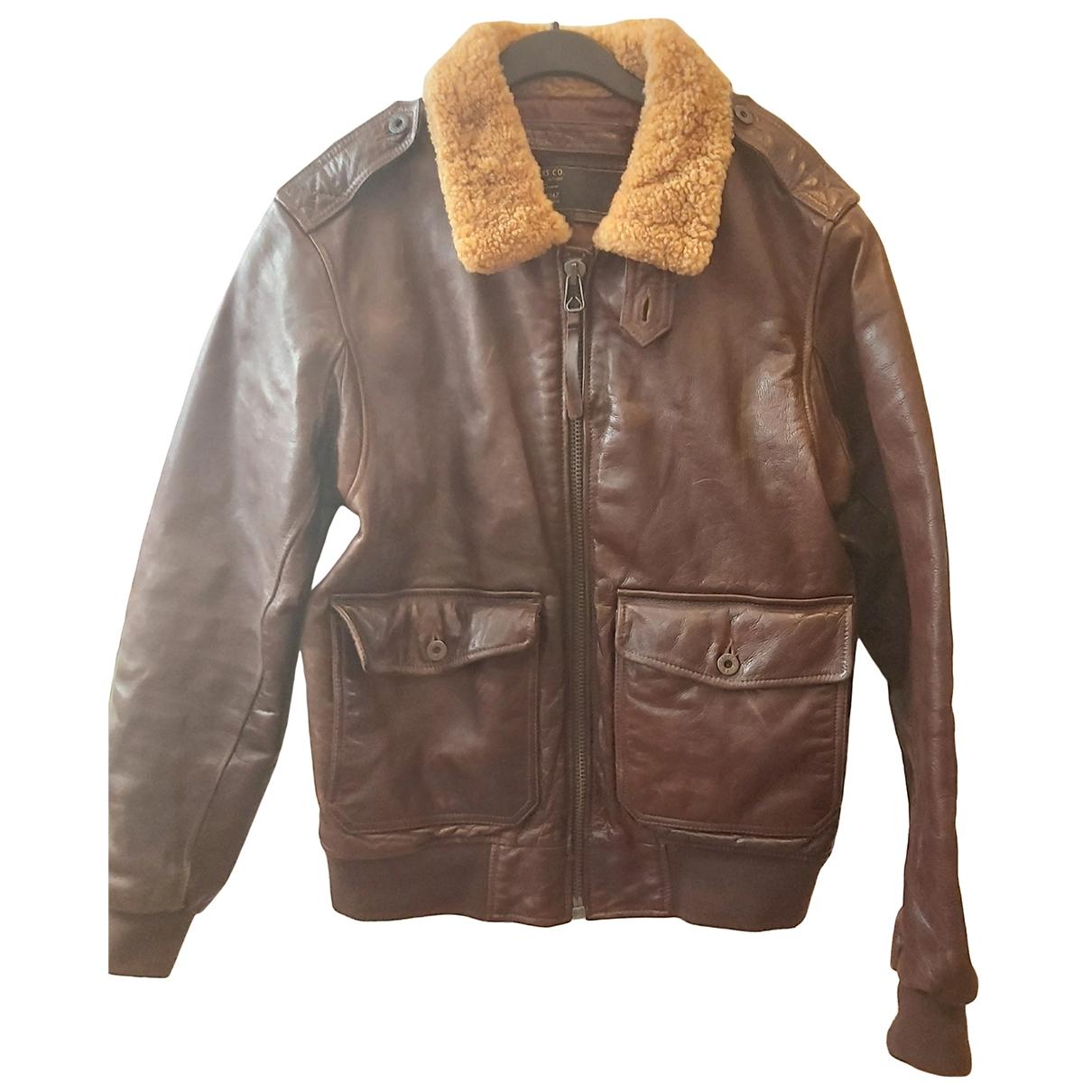 Polo Ralph Lauren \N Brown Leather jacket  for Men M International