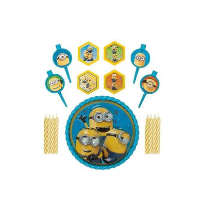 Despicable Me Minions Cake Decoration Kit 17Pcs For Birthday Party