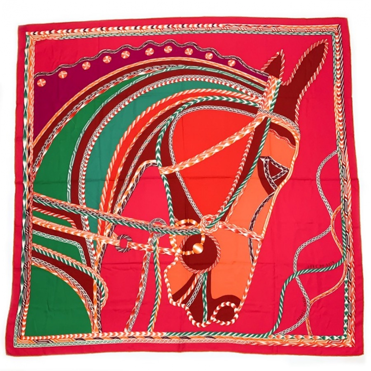 Herm??s \N Multicolour Cashmere scarf for Women \N