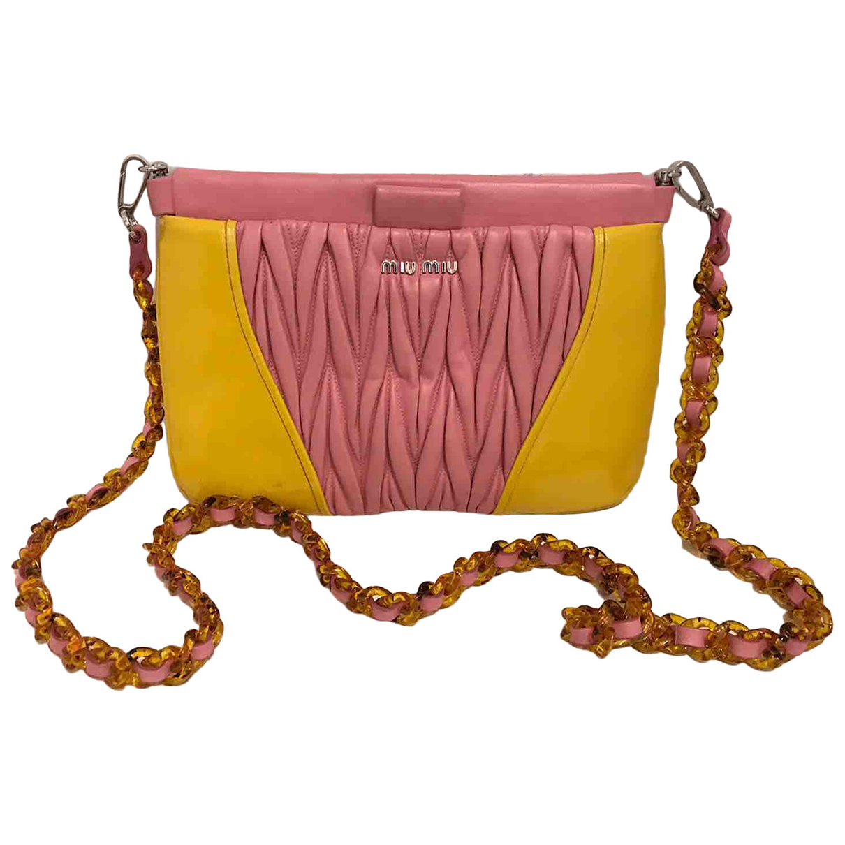 Miu Miu \N Multicolour Leather Clutch bag for Women \N