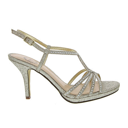 I. Miller Womens Vallie Heeled Sandals, 9 1/2 Medium, Yellow