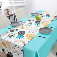 Fruit Print Tablecloth