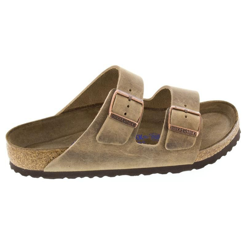 Birkenstock Arizona Tobacco Oiled Leather Soft Footbed 42 R