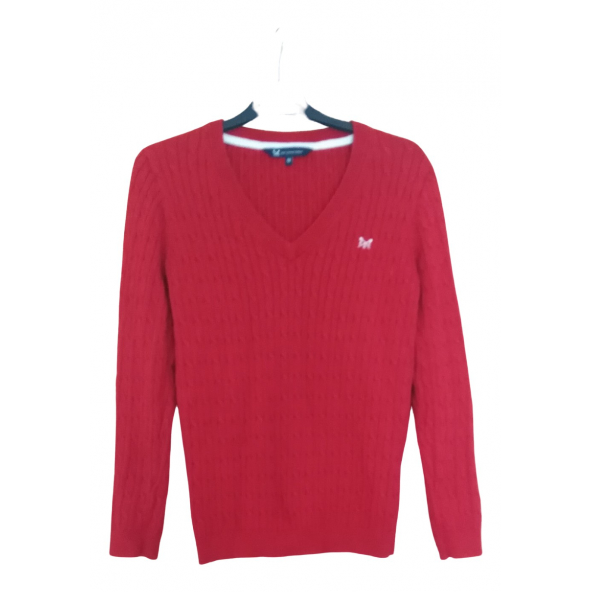 Non Signé / Unsigned \N Red Cotton Knitwear for Women 12 UK