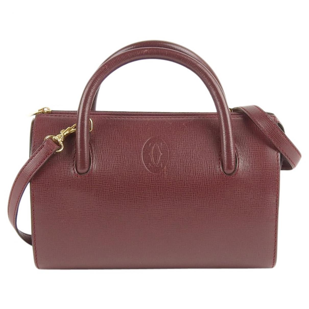 Cartier \N Red Leather handbag for Women \N