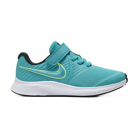 Nike Star Runner 2 Little Kids Boys Running Shoes, 12 Medium, Blue