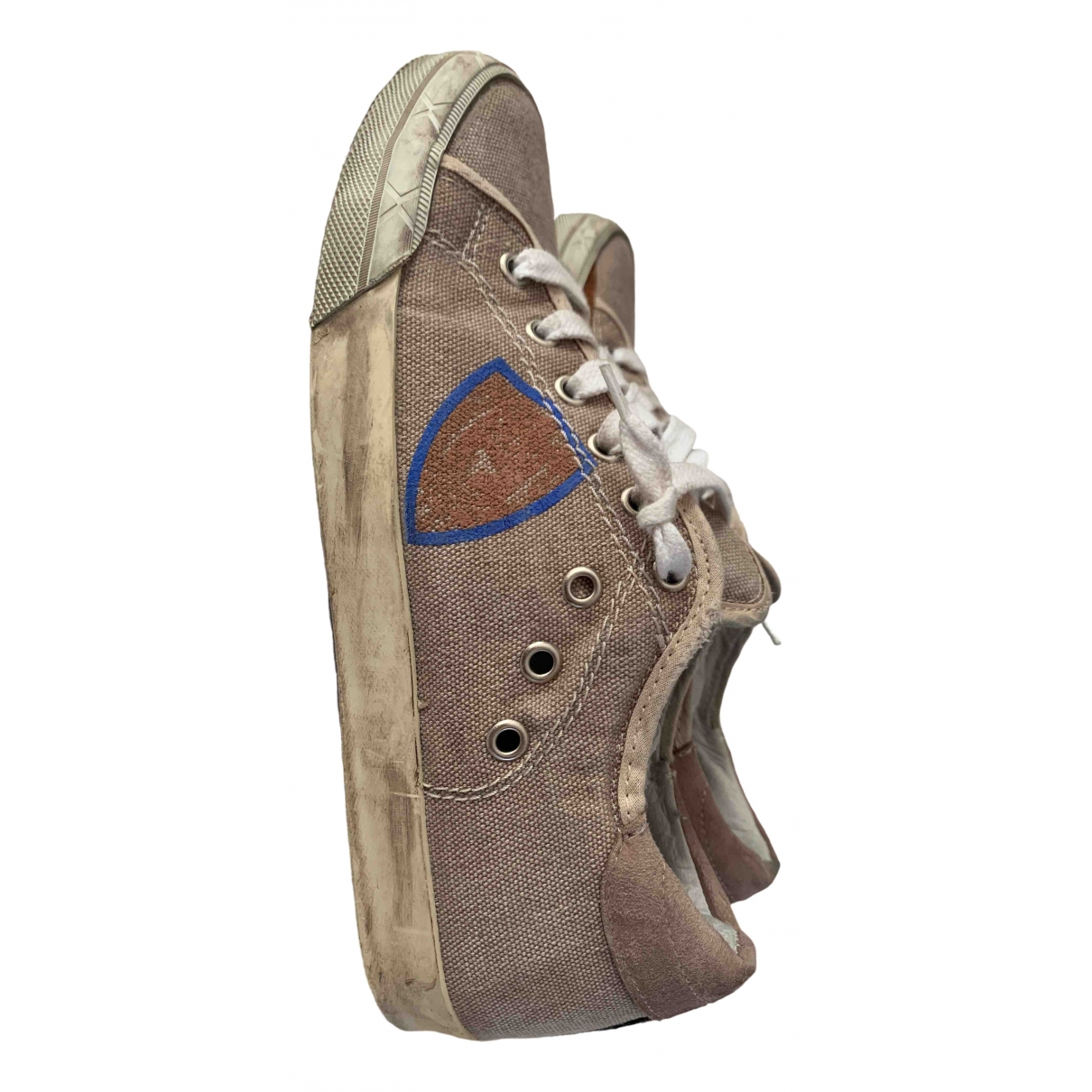 Philippe Model \N Camel Cloth Trainers for Women 38 IT