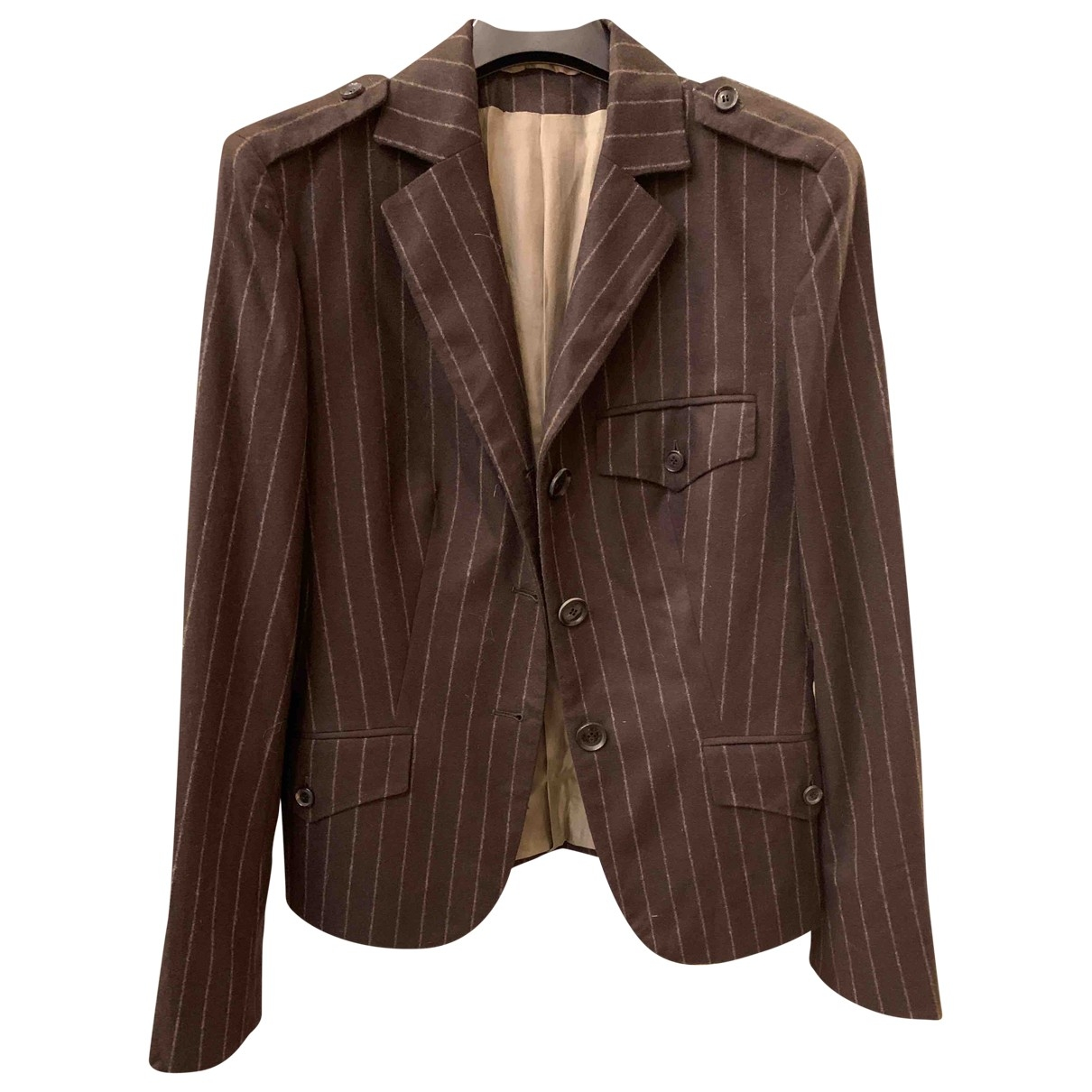 Kiton \N Brown Cashmere jacket for Women 44 IT