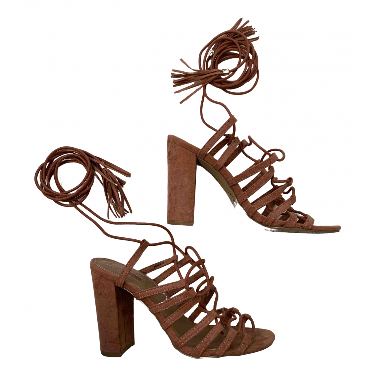 Non Signé / Unsigned \N Suede Sandals for Women 37 EU